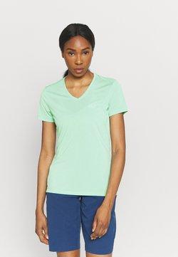 Jack Wolfskin - CROSSTRAIL WOMEN - T-Shirt basic - pacific green