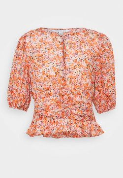 Forever New - HARPER DITSY PUFF SLEEVE BLOUSE - Bluse - orange