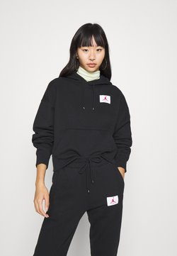 Jordan - FLIGHT - Kapuzenpullover - black