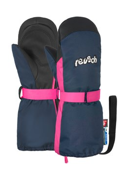 Reusch - Fäustling - dress blue/pink glo
