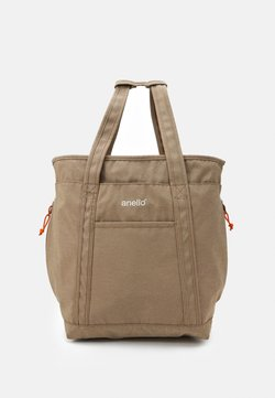 anello - 2WAY TOTE BACKPACK UNISEX - Reppu - beige