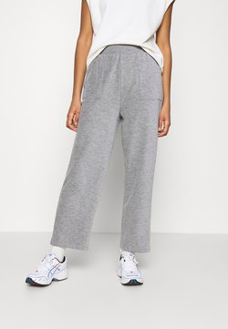 ONLY - ONLDENISE LOUNGE PANT - Jogginghose - light grey melange