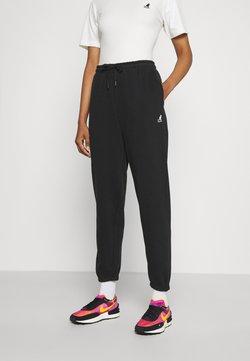 Kangol - FLORIDA BOXY FIT PANTS - Jogginghose - black