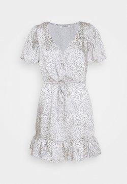 Glamorous - SLEEVE MINI DRESS - Robe d'été - grey