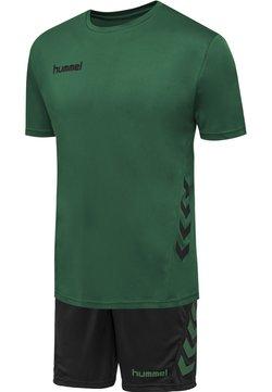 Hummel - DUO SET - Träningsshorts - evergreen/black