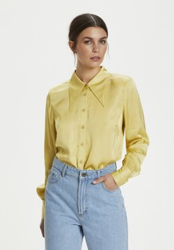 Gestuz - Overhemdblouse - yellow