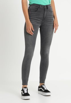 ONLY - ONLROYAL HIGH  - Jeans Skinny Fit - dark grey denim