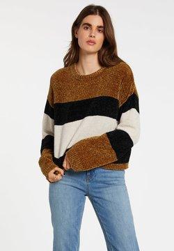 Volcom - BUBBLE TEA SWEATER - Sweatshirt - vintage_gold