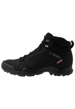 adidas Performance - TERREX AX3 BETA MID CLIMAWARM HIKING SHOES - Hikingschuh - core black/grey five