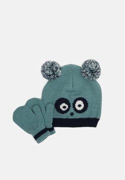 Color Kids - HAT SET UNISEX - Muts - mineral blue