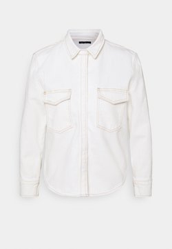 Levi's® Made & Crafted - SHRUNKEN - Button-down blouse - ecru denim