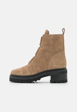 DKNY - BARRETT BOOT - Platform ankle boots - warm taupe