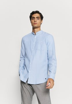 TOM TAILOR DENIM - STRUCTURED - Camisa - light blue