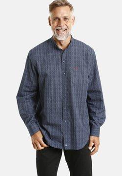 Jan Vanderstorm - HAMINGUR - Hemd - blau gemustert