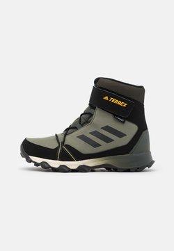 adidas Performance - TERREX SNOW CF UNISEX - Śniegowce - legend green/core black/solar gold