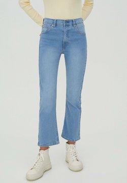 PULL&BEAR - Flared Jeans - light blue