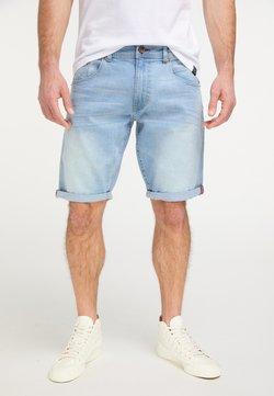 Petrol Industries - Jeans Shorts - bleached denim
