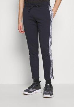 Antony Morato - PANT WITH LOGO TAPE ON LEGS - Jogginghose - ink blue