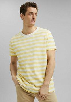 Esprit - FASHION  - T-Shirt print - light yellow