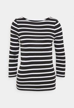 GAP - BALLET - Langarmshirt - black/white