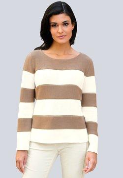 Alba Moda - Strickpullover - beige,off-white