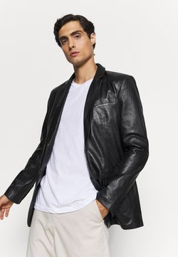 Serge Pariente - Veste en cuir - black