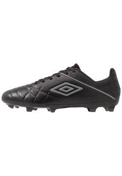 Umbro - MEDUSÆ III PREMIER FG - Moulded stud football boots - black/carbon