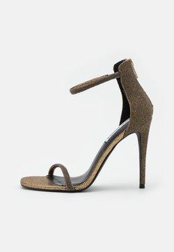 Steve Madden - RAPTURE - Sandalen met hoge hak - gold
