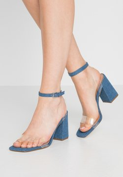 Call it Spring - SYRE - High heeled sandals - medium blue