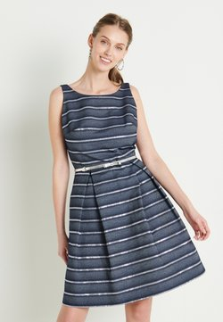 Swing - Cocktail dress / Party dress - marine /silber