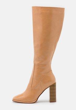 RAID Wide Fit - IVONE - Højhælede støvler - beige
