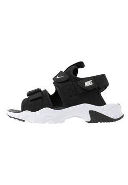 Nike Sportswear - CANYON SLIDE - Sandalias - black/white
