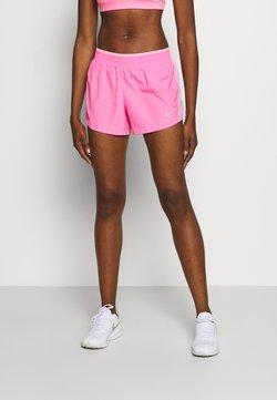 Nike Performance - Pantalón corto de deporte - pink glow/pink rise/pink foam/wolf grey