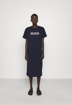 HUGO - NAILY - Maxikleid - dark blue
