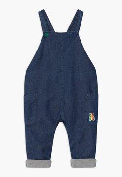 Benetton - DUNGAREE - Salopette - dark blue