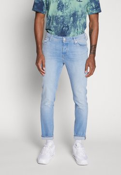 Jack & Jones - TIM ORIGINAL - Slim fit jeans - blue denim