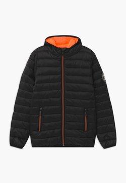 Staccato - KID MINI - Talvitakki - black/neon orange