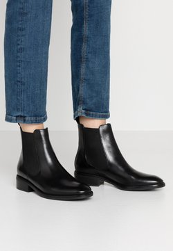 Anna Field - LEATHER CHELSEAS - Stiefelette - black