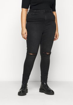New Look Curves - LIFT AND SHAPE - Jeans Skinny Fit - black
