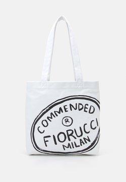 Fiorucci - ILLUSTRATED COMMENDED TOTE BAG UNISEX - Shoppingväska - white