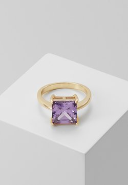 SNÖ of Sweden - LADY SQUARE RING - Anello - purple