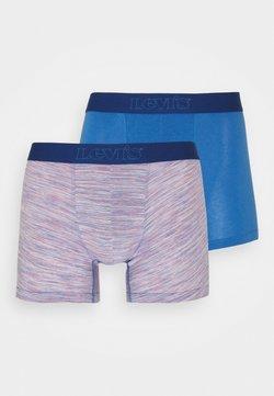 Levi's® - MICRO STRIPE BOXER BRIEF 2 PACK - Panties - blue