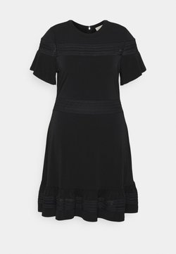 MICHAEL Michael Kors - MIX DRESS - Vestido ligero - black