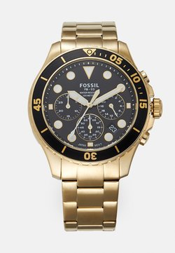 Fossil - Chronograph - gold-coloured