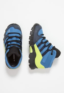 adidas Performance - TERREX RELAXED SPORTY GORETEX MID SHOES - Vaelluskengät - trace royal/collegiate navy/solar slime