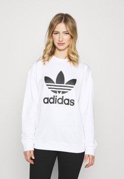 adidas Originals - CREW - Bluza - white