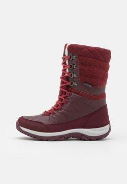 Hi-Tec - RIVA WP - Winter boots - burgundy/light burgundy
