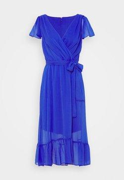 DKNY - FLUTTER SLEEVE - Sukienka letnia - iris