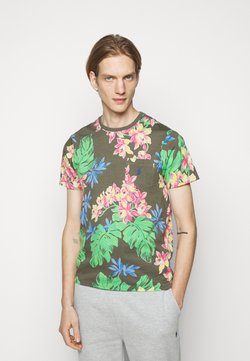 Polo Ralph Lauren - SHORT SLEEVE - Print T-shirt - surplus tropical