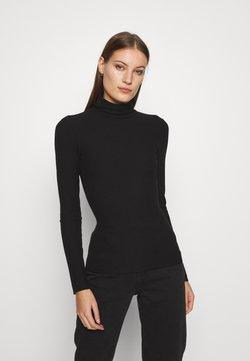 Zign - Langærmede T-shirts - black